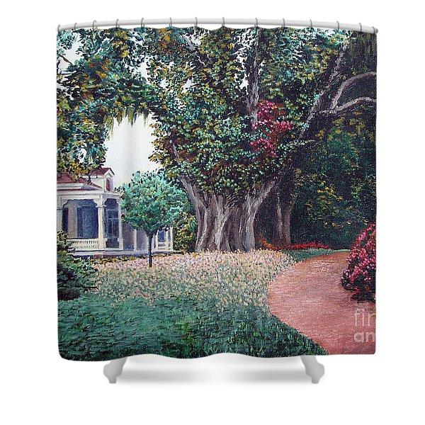 Live Oak Gardens Jefferson Island La Shower Curtain