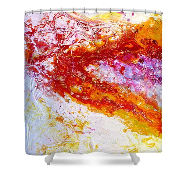 Live What You Love Shower Curtain