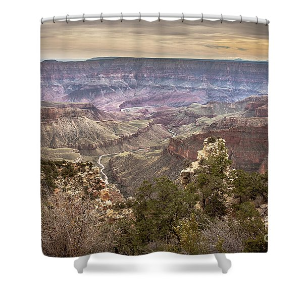 Living Delta To The Rim Shower Curtain