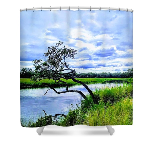 Living Low Shower Curtain