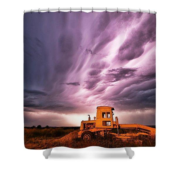 Living Sky In Nebraska Shower Curtain