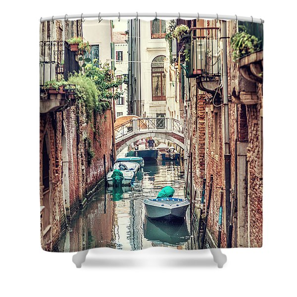 Living Waters Shower Curtain