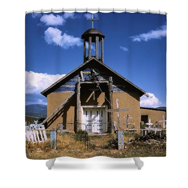 Llano De San Juan Shower Curtain
