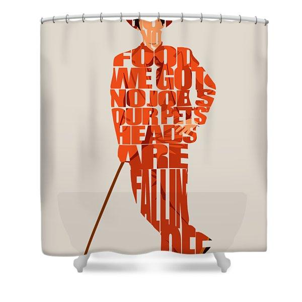 Lloyd Christmas Shower Curtain