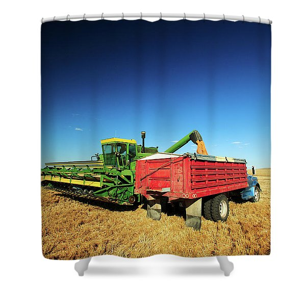 Load Of Wheat Shower Curtain