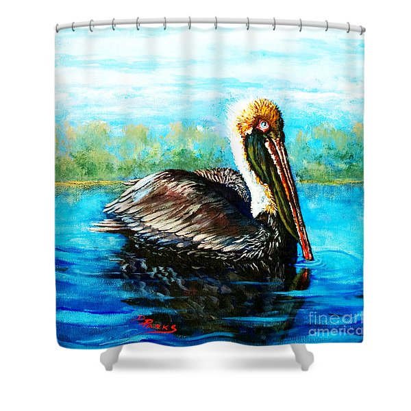 L'observateur Shower Curtain