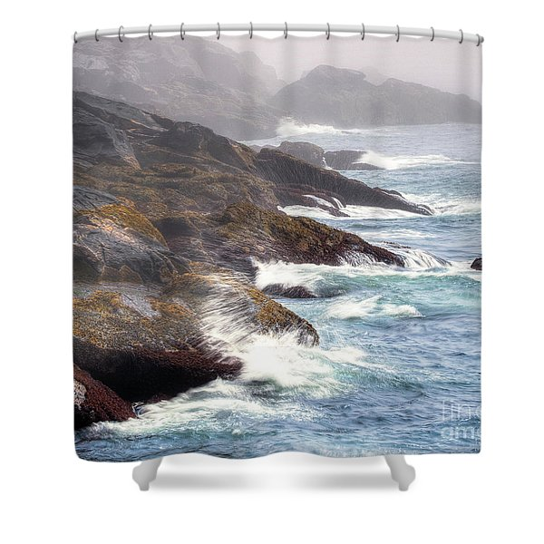Lobster Cove Shower Curtain
