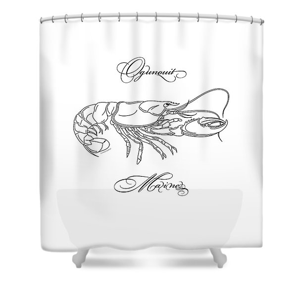 Ogunquit Maine Shower Curtain