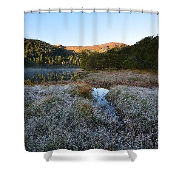 Loch Chon Shower Curtain