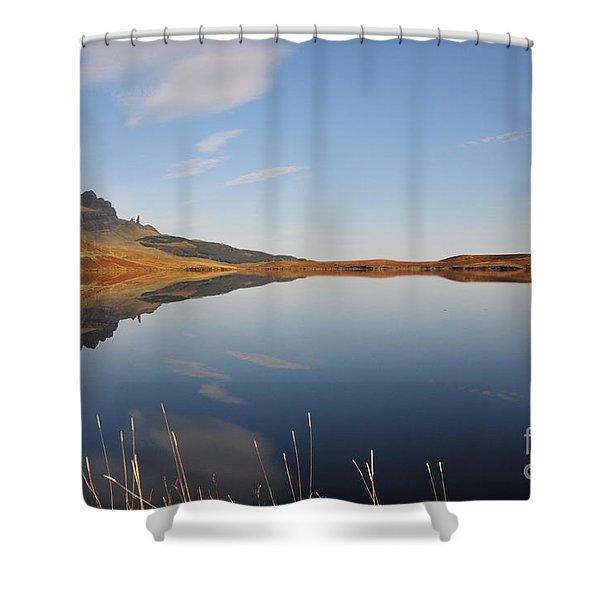 Loch Leatham Shower Curtain