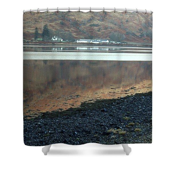 Loch Linnhe Reflection Shower Curtain