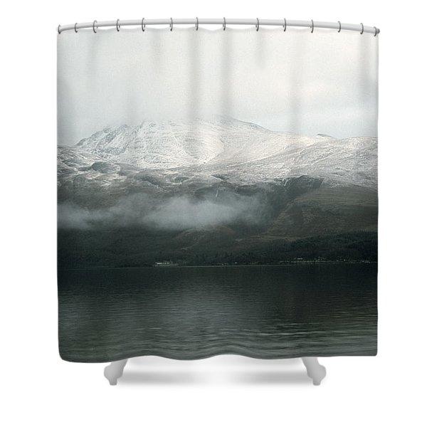 Loch Lomond, Winter Shower Curtain