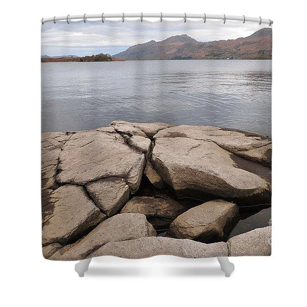 Loch Maree Shower Curtain