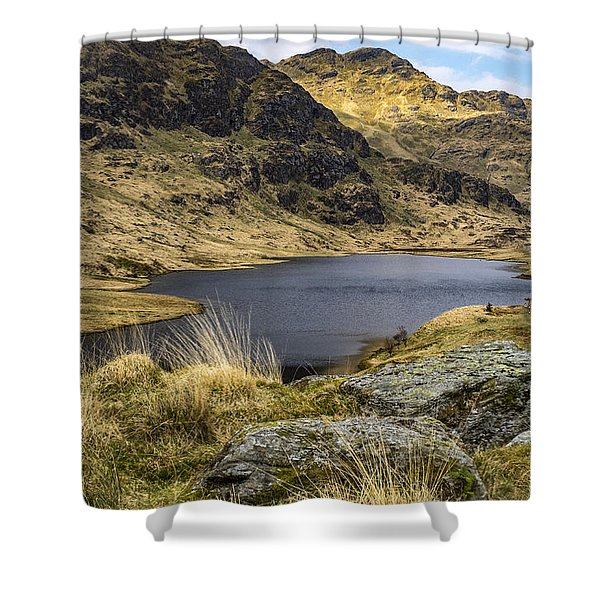Loch Restil From Rest And Be Thankful Shower Curtain