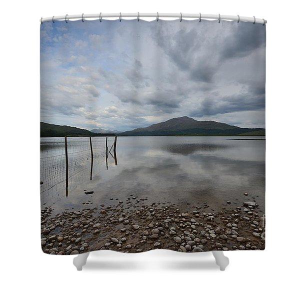 Loch Shiel Shower Curtain