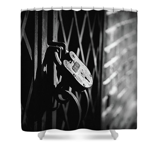 Locked Away Shower Curtain