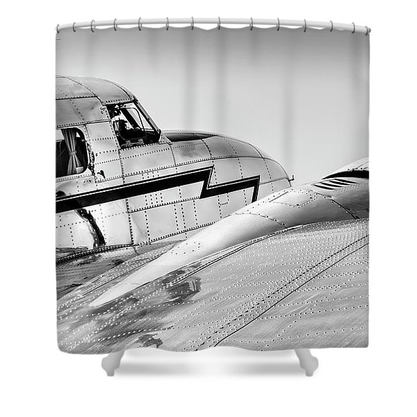 Lockheed Electra 12 Shower Curtain
