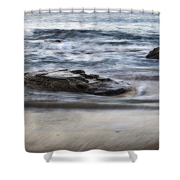 Loco Motion Shower Curtain