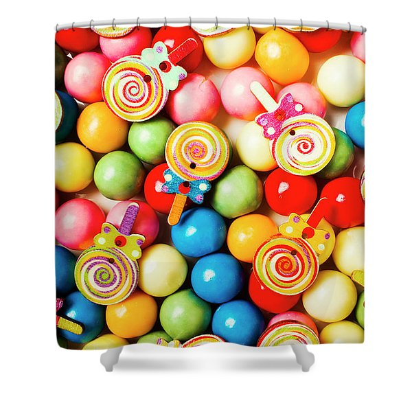 Lolly Shop Pops Shower Curtain