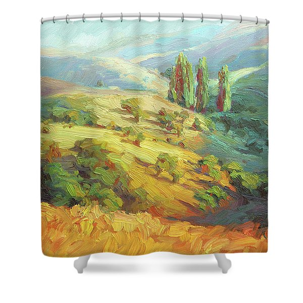 Lombardy Homestead Shower Curtain