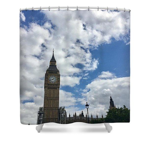 London England  Big Ben Shower Curtain