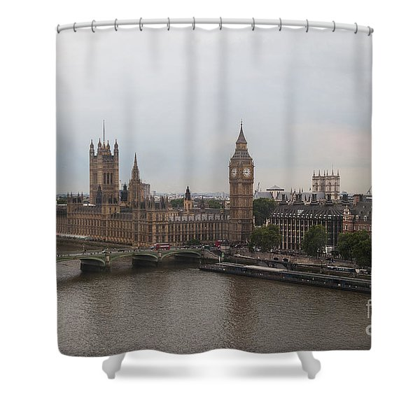 London Icons Shower Curtain