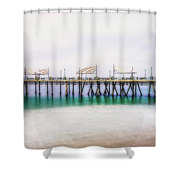 London In Redondo Shower Curtain