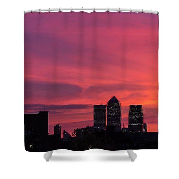 London Wakes 1 Shower Curtain