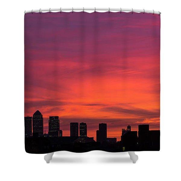 London Wakes 2 Shower Curtain