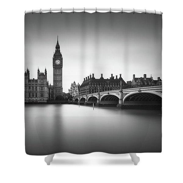 London, Westminster Bridge Shower Curtain
