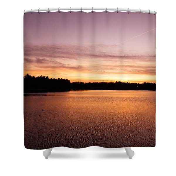Lone Duck Shower Curtain