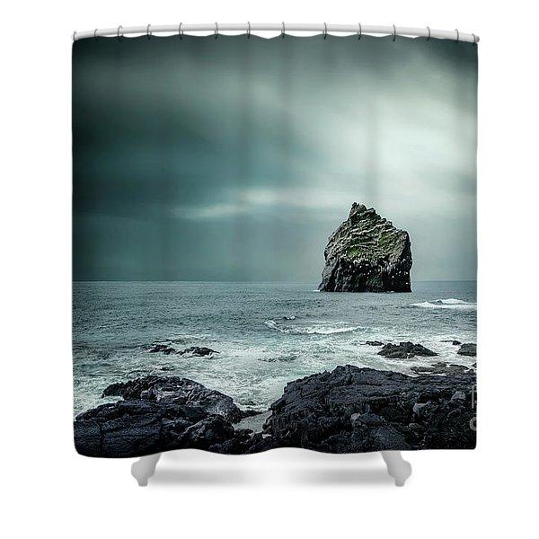 Lone Man Saga Shower Curtain