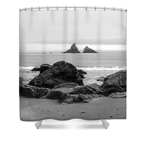 Lone Ranch Beach Shower Curtain