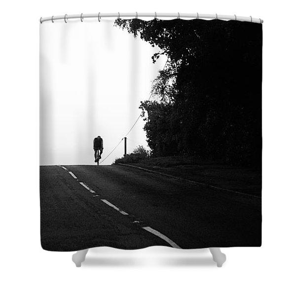 Lone Rider Shower Curtain