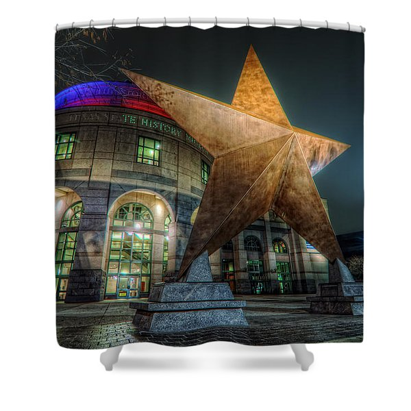 Lone Star Shower Curtain