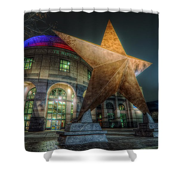 Lone Star Shower Curtain