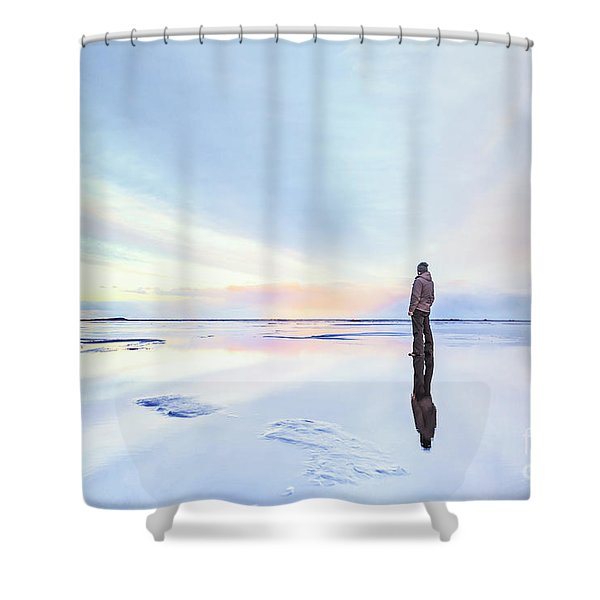Loneliest Shower Curtain