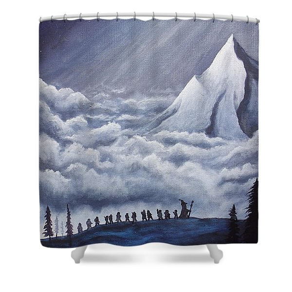 Lonely Mountain Shower Curtain