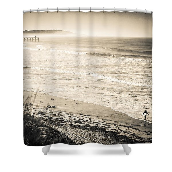 Lonely Pb Surf Shower Curtain