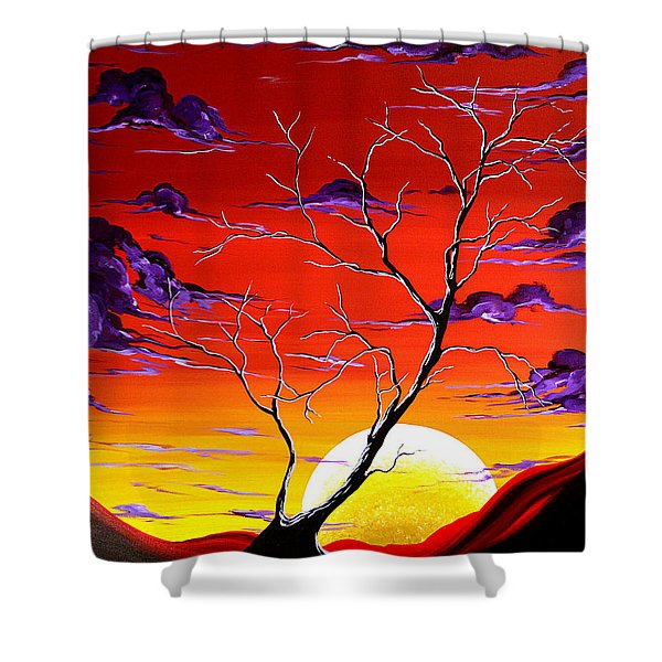 Lonely Soul By Madart Shower Curtain