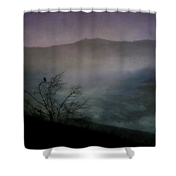 Lonesome Point Shower Curtain