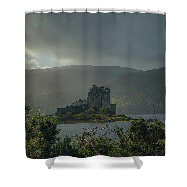 Long Ago #g8 Shower Curtain