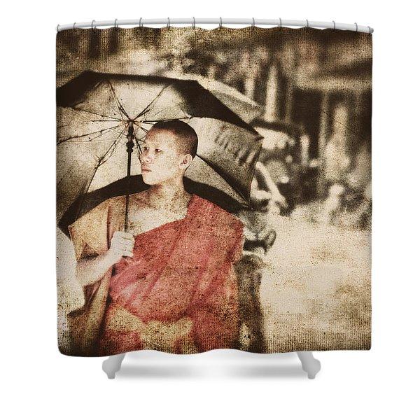 Long Ago In Luang Prabang Shower Curtain