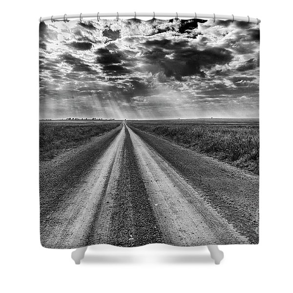 Long And Lonely Shower Curtain