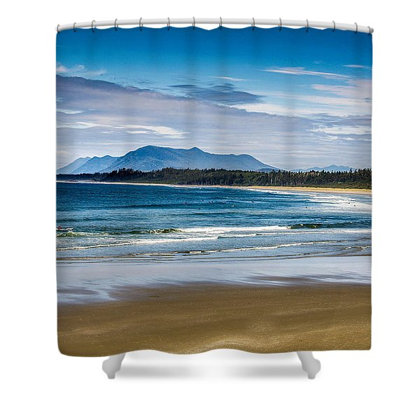Long Beach, B.c Shower Curtain