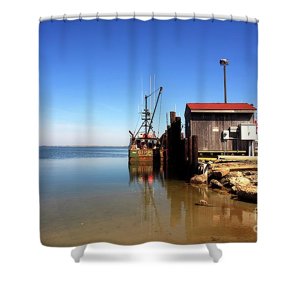 Long Beach Island Bay Shower Curtain