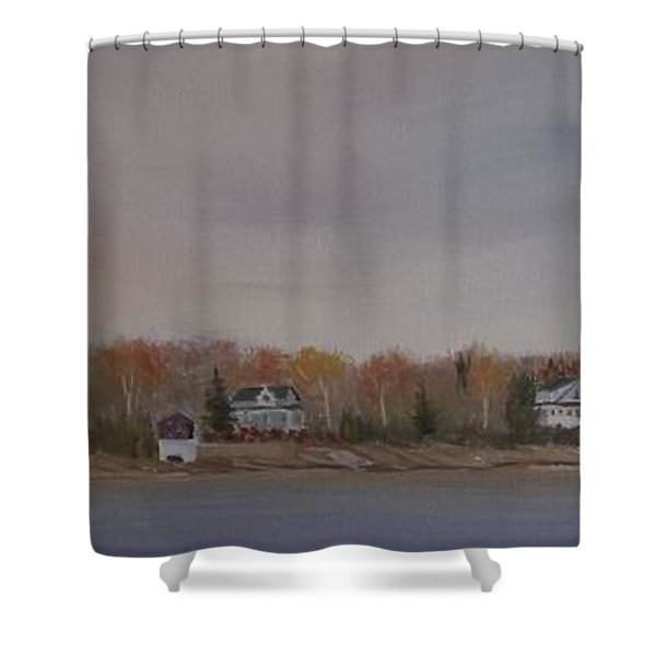 Long Cove Fall Shower Curtain