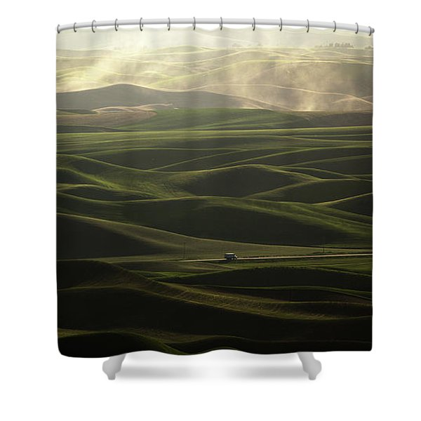 Long Haul Shower Curtain