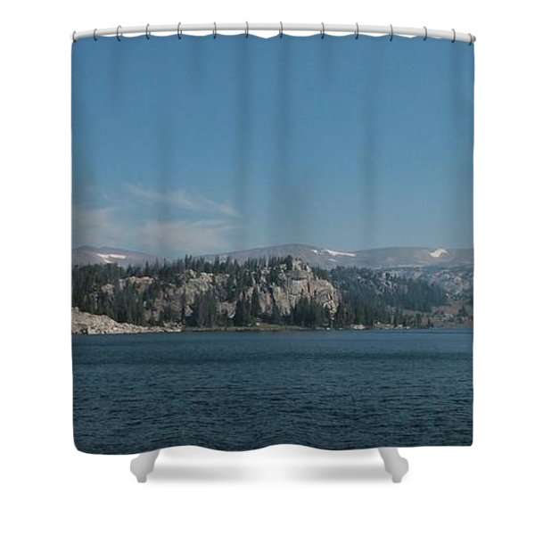 Long Lake Shoshone National Forest Shower Curtain