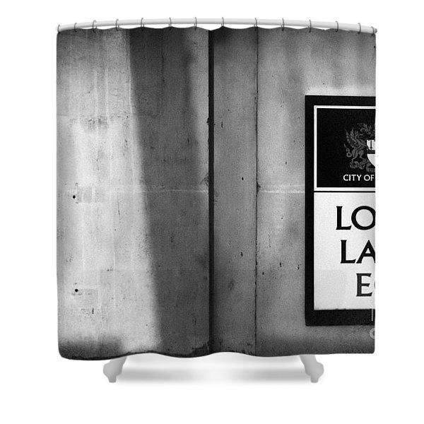 Long Lane Ec1 Shower Curtain
